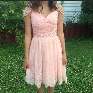 Light Pink Formal Dress